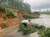 Ảnh hưởng của mưa lũ làm 1 người chết, 3 người mất tích tại Quảng Ngãi