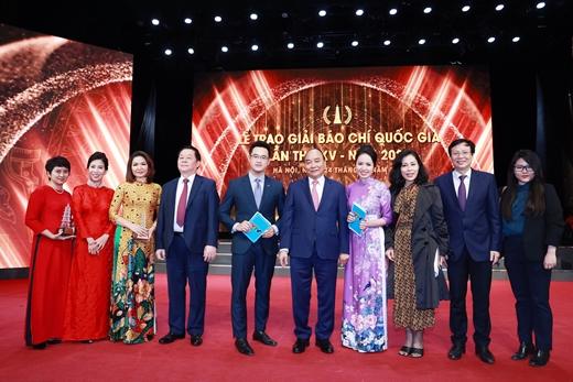 Toàn cảnh Lễ trao giải báo chí quốc gia lần thứ XV