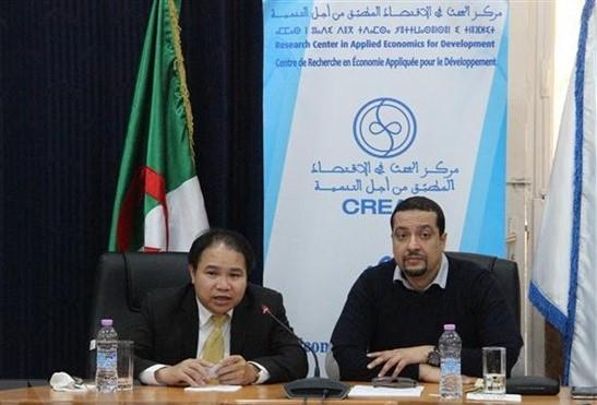 Algeria quan tâm tìm hiểu kinh nghiệm phát triển kinh tế của Việt Nam