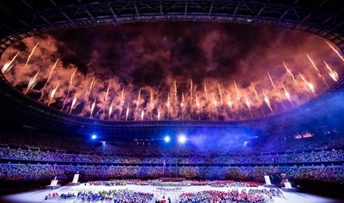 Церемония закрытия паралимпийских игр Токио-2020