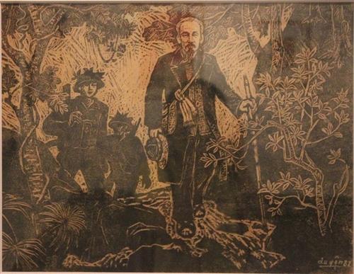 Впечатляющие картины о президенте Хо Ши Мине