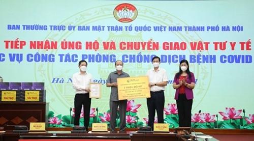 Отечественный фронт Вьетнама в Ханое получил 8 млн долл США на борьбу с COVID-19