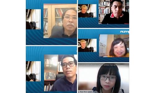 Встреча деятелей литературы Вьетнама и России