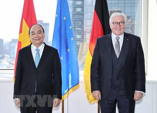 Президент Вьетнама Нгуен Суан Фук встретился с германским коллегой Франк-Вальтером Штайнмайером