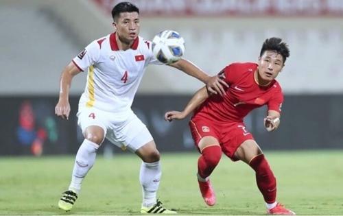 Сборная Вьетнама проиграла сборной Китая со счетом 2-3