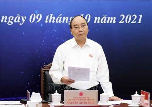 Президент Вьетнама встретился с избирателями-представителями системы здравоохранения города Хошимина