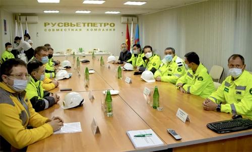 Посол Республики Вьетнам в РФ посетил дочернее предприятие «Зарубежнефти» в НАО