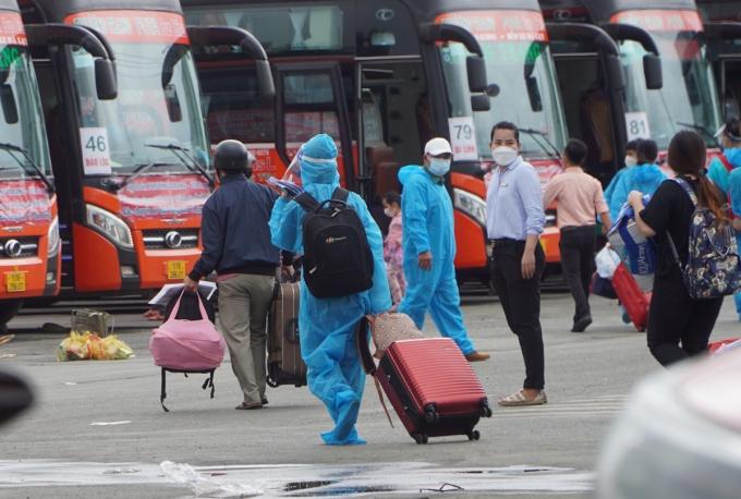 Город Хошимин возобновит межпровинциальное автобусное сообщение с ноября