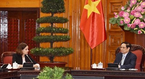 Премьер-министр Вьетнама Фам Минь Чинь принял Посла Австралии во Вьетнаме