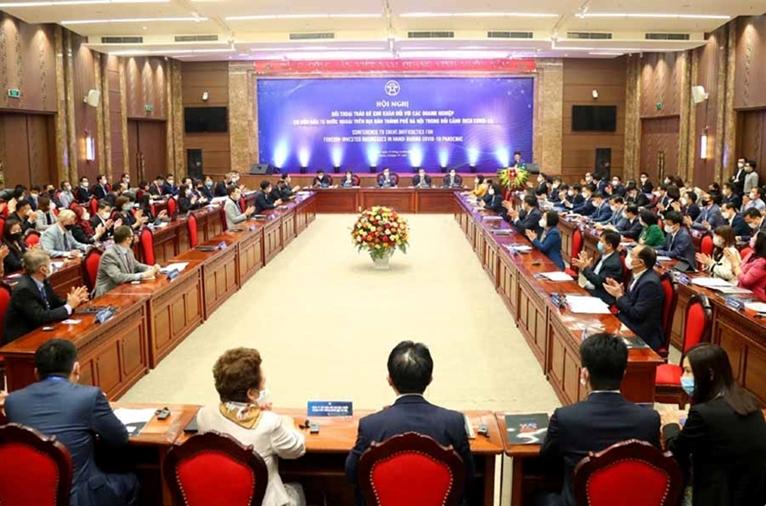Власти Ханоя организовали диалог по устранению трудностей, стоящих перед предприятиями с ПИИ