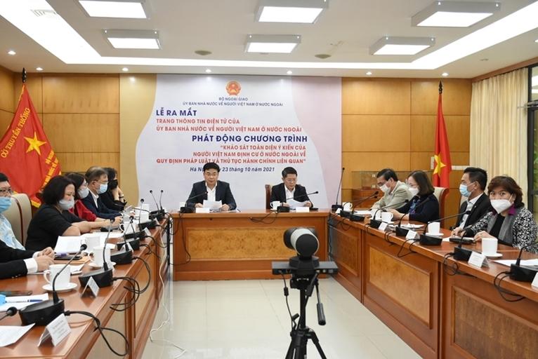 Запуск информационного сайта Государственного комитета по делам вьетнамцев, проживающих за границей