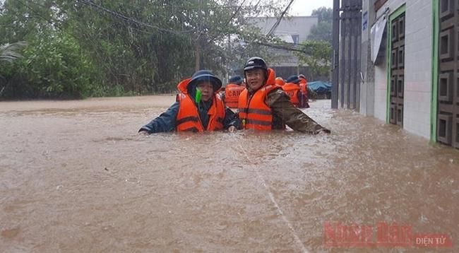 Служебная телеграмма Премьер-министра об оперативном реагировании на наводнения в Центральной части Вьетнама