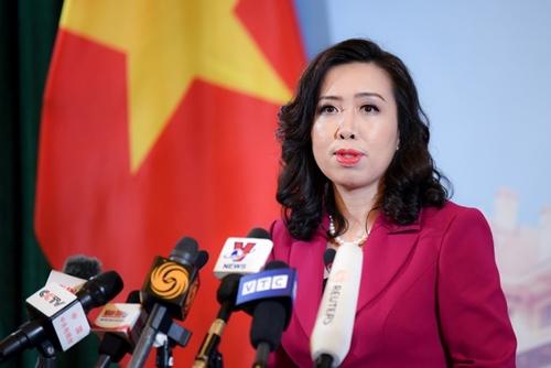 Vietnam respalda la solución de las disputas en el Mar del Este mediante procesos diplomáticos y judiciales