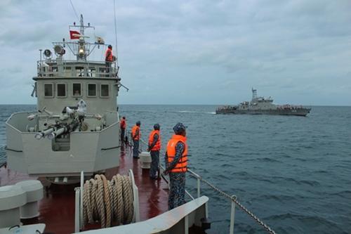 Patrullajes conjuntos ayudan a mantener la seguridad en el Mar del Este
