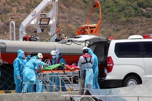 Rescatan a pescador accidentado en archipiélago vietnamita de Truong Sa