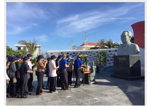 Parque en homenaje al general Vo Nguyen Giap en la isla de Son Ca