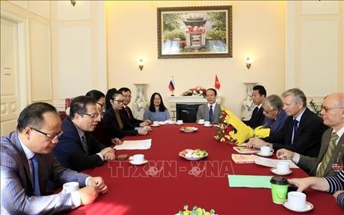 La Embajada vietnamita en Rusia impulsa la diplomacia popular en la nueva coyuntura