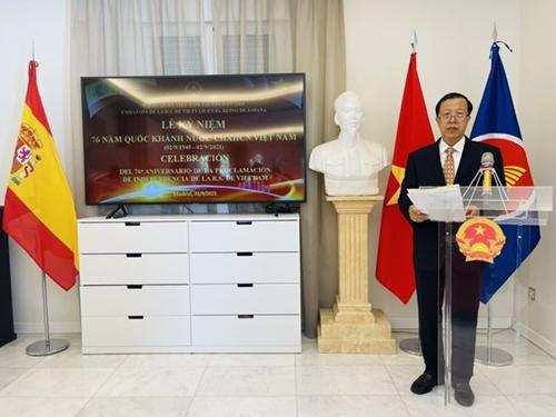 Se celebra en España la Fiesta Nacional de Vietnam