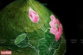 Pinturas sobre hojas de loto reflejan la identidad cultural de Vietnam