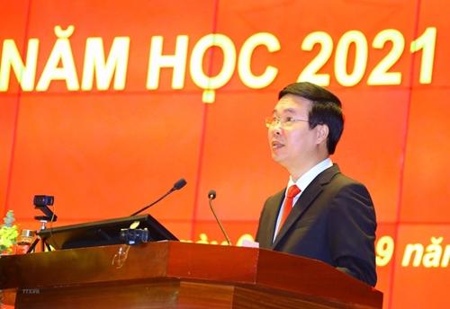 Promoción eficaz del rol, la importancia, el conocimiento y el carácter de la Academia Nacional de Política Ho Chi Minh
