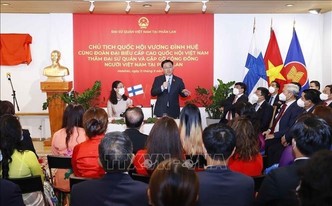 La comunidad vietnamita en Finlandia colabora con el desarrollo de su tierra natal
