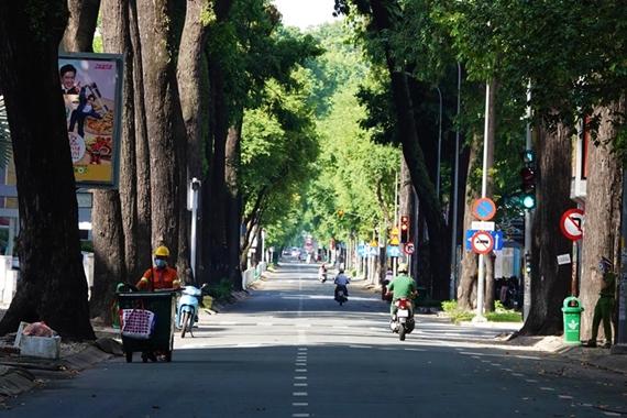 Ciudad Ho Chi Minh continuará bajo las medidas de distanciamiento social hasta la noche del 30 de septiembre de 2021
