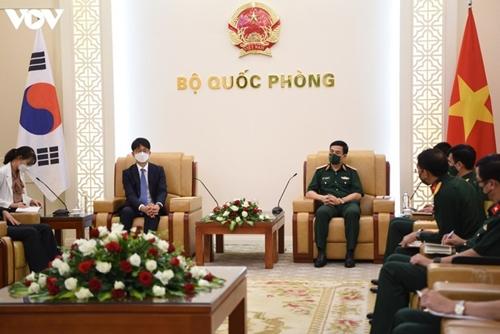 Intensificar la cooperación en defensa Vietnam-Corea del Sur