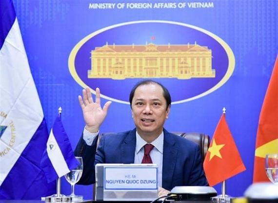 Vietnam y Nicaragua afianzan la cooperación bilateral en diversos ámbitos