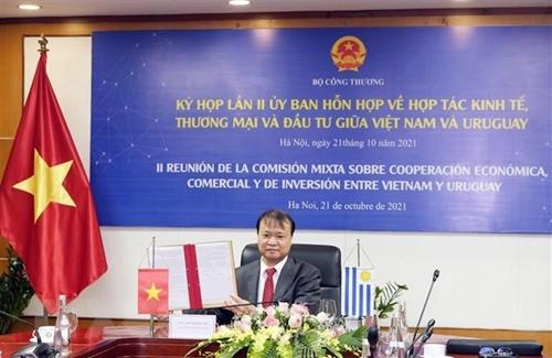 Reunión del Comité Mixto para la Cooperación Económica, Comercial e Inversionista entre Vietnam y Uruguay